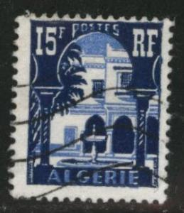 ALGERIA Scott 258 used 1954 stamp