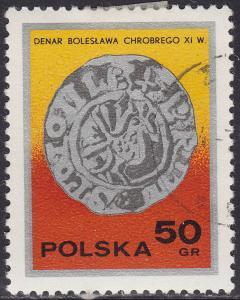 Poland 2236 USED 1977 Early Polish Silver Coins 50GR
