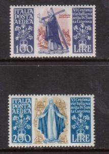 Italy #C127 - #C128 VF Mint Set