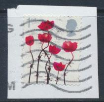 Great Britain Poppies SG3414    see scan