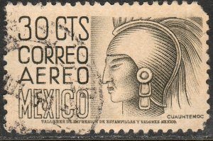 MEXICO C190, 30c 1950 Definitive FIRST PRINTING wmk 279 Used. F-VF. (609)
