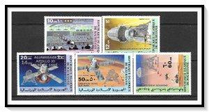 Mauritania #425-426, C192-C194 Apollo Moon Landing Set MNH
