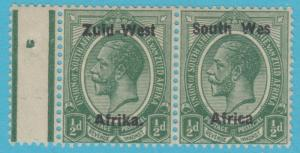 SOUTH WEST AFRICA 1 SG 1a 1923 MINT HINGED OG NO FAULTS EXTRA FINE WES VARIETY