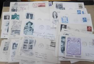 US 1945-57 Cachet First Day Cover Lot of 160 Covers F