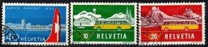 Switzerland #344-6   F-VF Used   CV $8.00  (X1282)