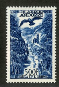 FRENCH ANDORRA C4 MH SCV $120.00 BIN $50.00 PLACE