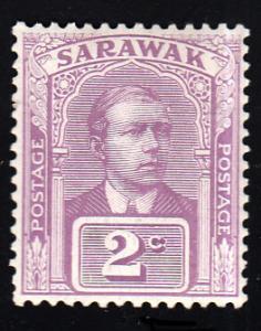 Sarawak Scott 52 Unused lightly hinged.