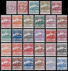 San Marino Scott 40-49, 51-61, 63-68, 70-71(1903-21) Mint/Used H F-VF, CV$177.25