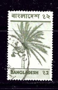Bangladesh 83 Used 1974 Palm Tree  #2