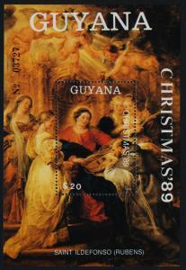 Guyana 2240 MNH Christmas, Art, Saint Ildefonso
