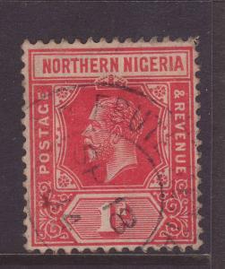 1912 Northern Nigeria 1d Fine Used SG41.