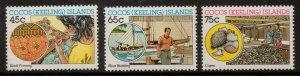 COCOS (KEELING) ISLANDS SG169/71 1987 MALAY INDUSTRIES MNH
