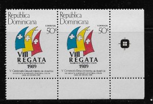 DOMINICAN REPUBLIC STAMPS MNH # SEP34