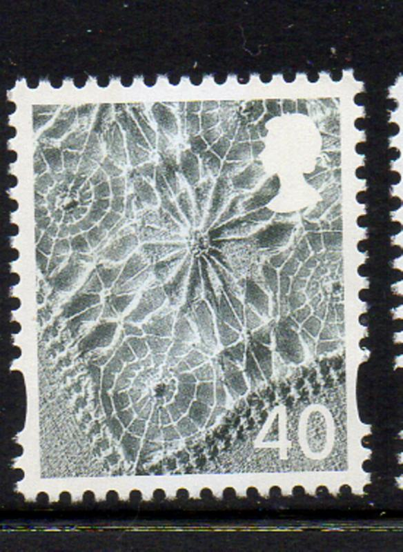 Great Britain N Ireland Sc 10 2004 40p Linen stamp mint NH