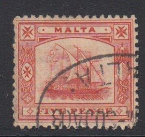 Malta Sc 16 (SG 33), used