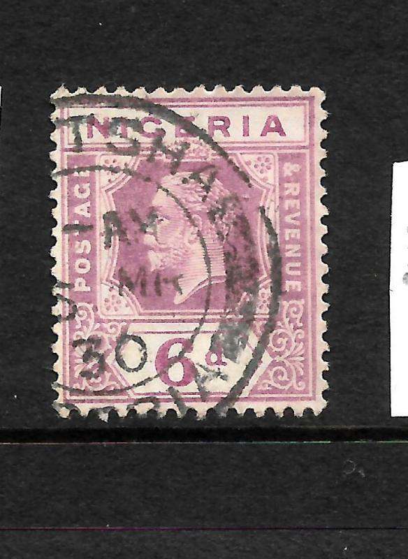 NIGERIA  1921-32  6d   KGV  FU   SG 25a