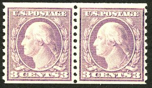 U.S. #493 MINT Pair OG NH