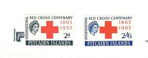 Pitcairn Islands, 36-37, Red Cross Singles, VLH