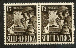 South Africa, Scott #89c, Unused, Hinged pair