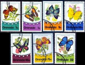 Grenada Used 660-6 Butterflies