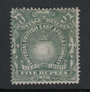 British East Africa, Sc 30 (SG 19), MHR