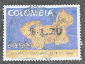 DYNAMITE Stamps: Colombia Scott #840 – USED