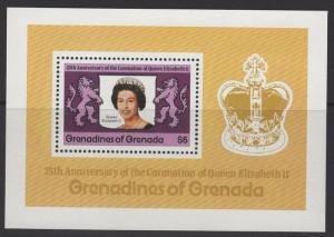 GRENADA GRENADINES SGMS275 1978 CORONATION MNH