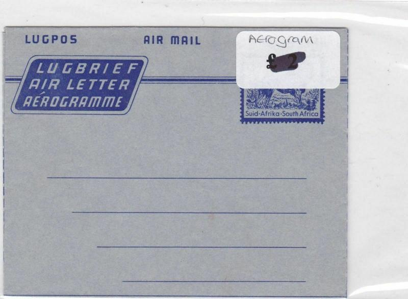 South Africa Stamps Cover airogram Ref 8811