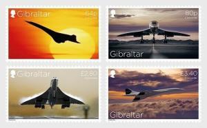 H01 Gibraltar 2019 Concorde 50th Anniversary MNH Postfrisch