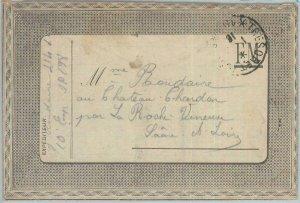 81961 - FRANCE - Postal History - WAR - FELDPOST Field Post PROPAGANDA 1916