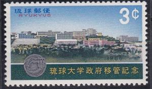 Ryukyu Islands 145 MNH (1966)