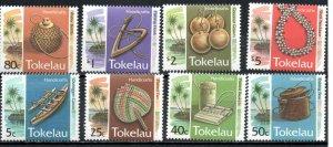 Tokelau 195-202 MNH