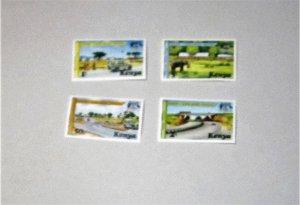Kenya - 94-97, MNH Set. Border Point. SCV - $1.70