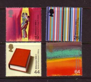 Great Britain Sc 1883-6 1999 artists stamp set mint NH