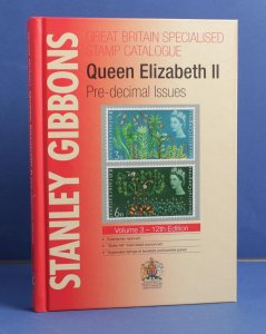 GREAT BRITAIN : Stanley Gibbons QEII Pre-decimal Specialised Catalogue
