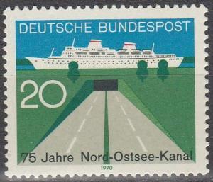 Germany #1021 MNH  (S8921)