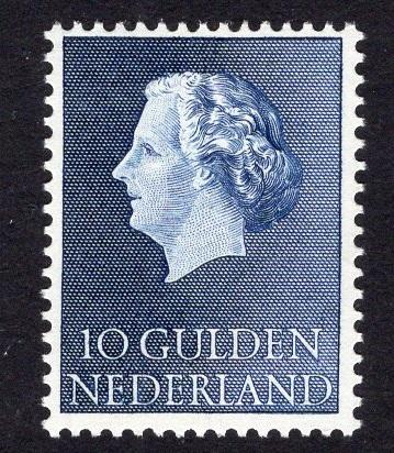 Netherlands  #364  MNH  1957   Juliana 10 g