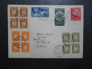 Norway 1949 Cover to Tyskland - Z10263