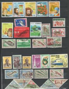 Congo stamps