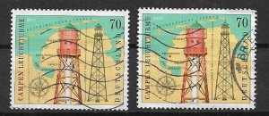 Germany used  2019 - CAMPEN - Lighthouses