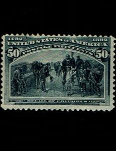 Scott #240 F/VF-OG-NH. SCV $1,250.00