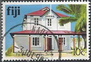 Fiji 414a (used) 10c Visitors' Bureau (1990)