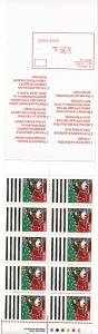 Canada - 35c Father Christmas Booklet #BK133b
