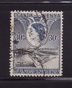 Kenya, Uganda, Tanzania 108 Queen Elizabeth II, Dam (A)