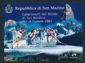[25160] San Marino 2003 Sports World Cup Nordic Combined Skiing MNH