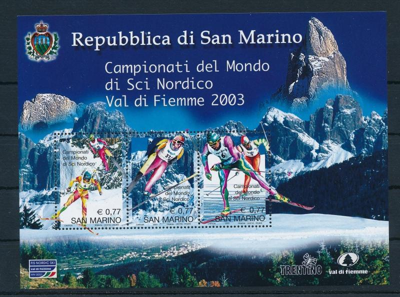 [25160] San Marino 2003  World Cup Nordic combined skiing MNH