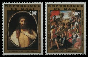 1981 Mali 849-850 Artists / Raphael and Rembrandt