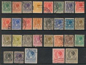 NETHERLANDS 1924 - 39 QUEEN WILHELMINA