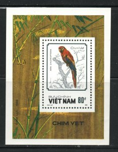 Vietnam, Democratic Republic of  (1988 )  - Scott # 1864,   Birds