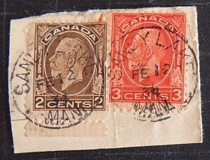 Canada, 2 and 3 cents, SC #196, SC #197, (1399-1404-T)